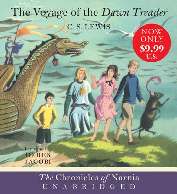 [CD] Voyage of the Dawn Treader By Lewis, C. S./ Jacobi, Derek (NRT)